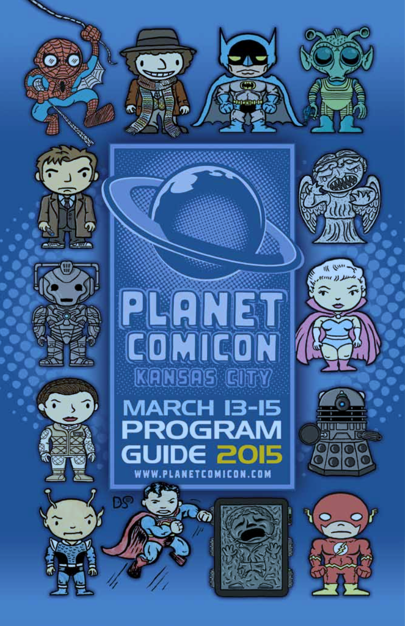 Planet Comicon Program Sean Gunn Michael Rooker
