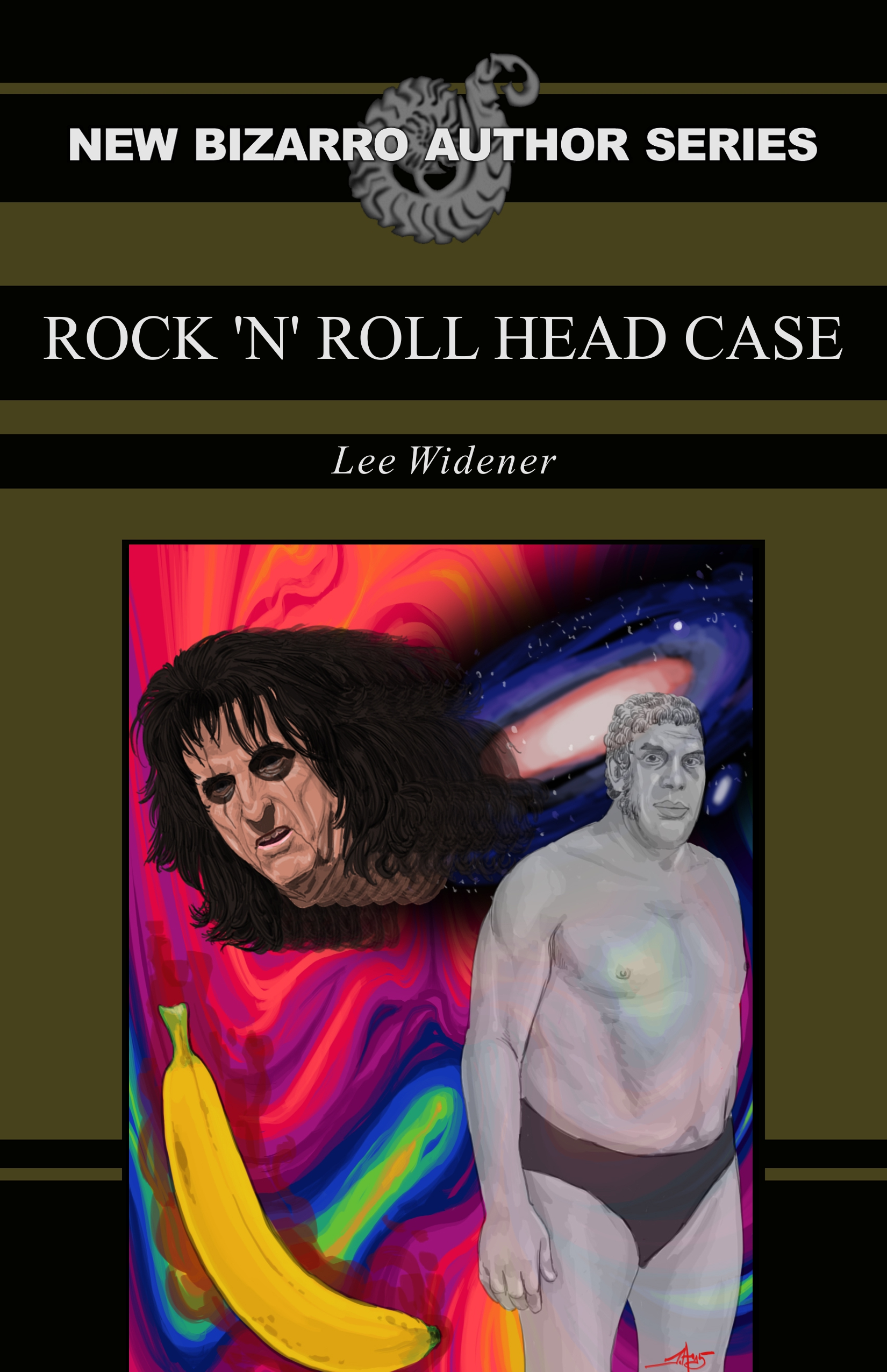 Rock 'N' Roll Headcase by Lee Widener